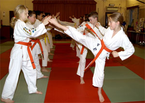 Juniors Karate Training Prestwood